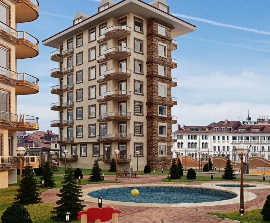 Новый проект в районе Авсаллар