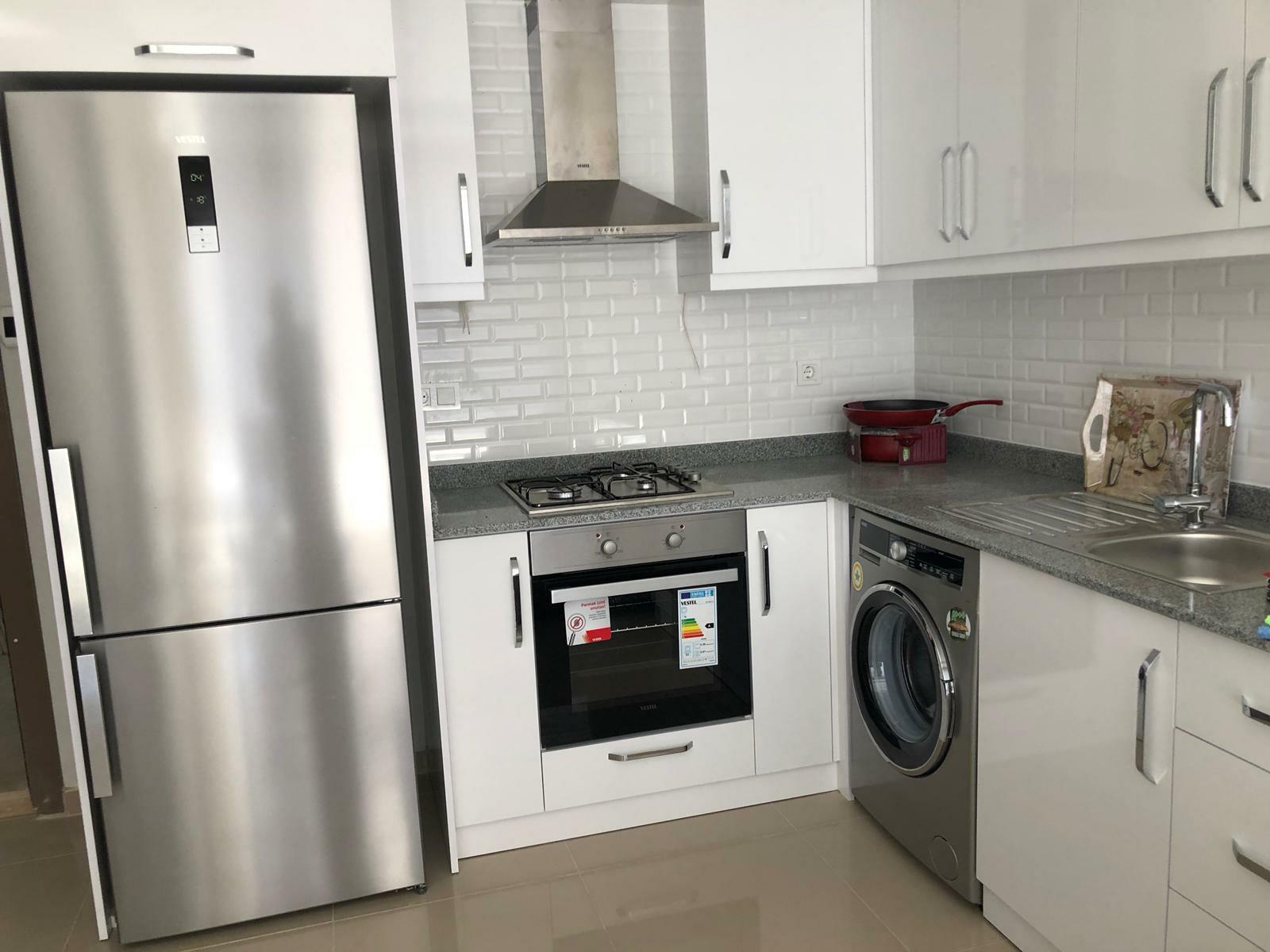 Уютная квартира в новом доме в центре Аланьи