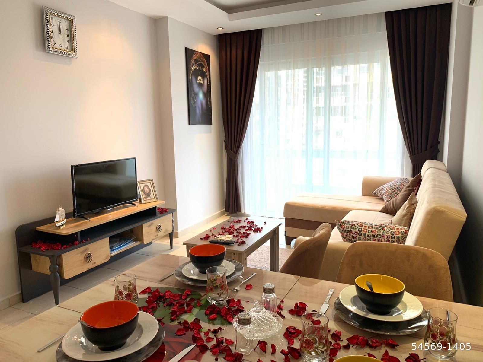 Квартира 1+1 — Махмутлар, Аланья, Турция