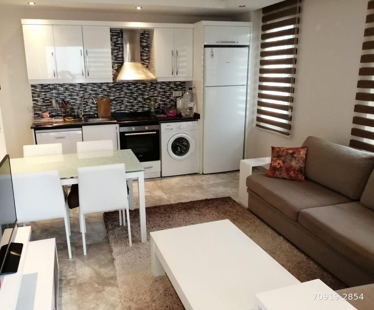 Квартира 1+1 — Оба, Аланья, недвижимость в Турции