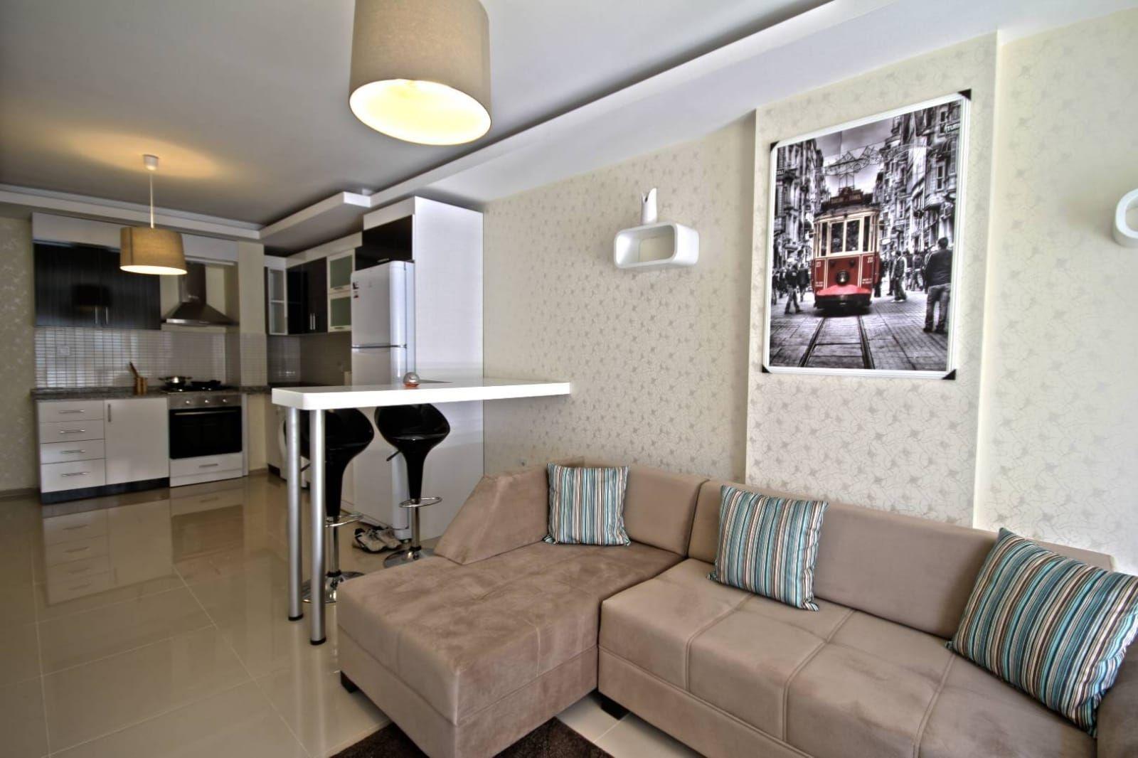 Квартира 1+1 — Анталия, недвижимость в Турции