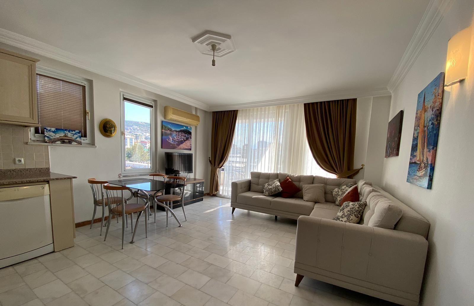 Квартира 1+1 — Аланья, недвижимость в Турции