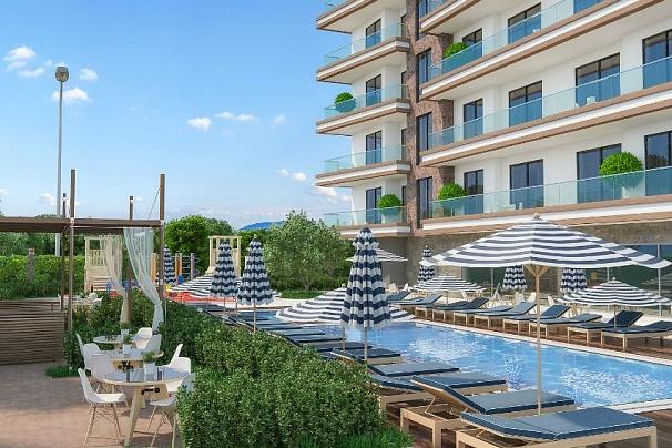 «Sonas Loft Residence «- Махмутлар, Аланья, Турция