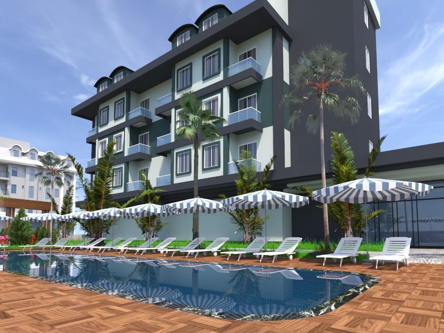 »Сity Street» — новый жилой комплекс — Аланья, Оба, Турция