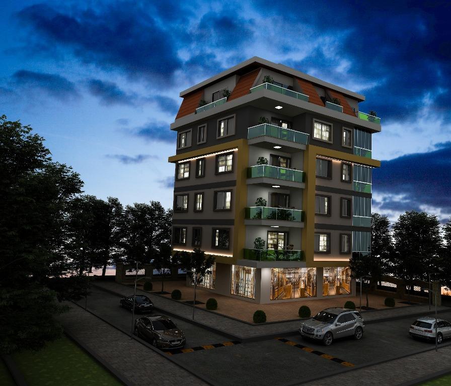 Новый проект в центре Аланьи