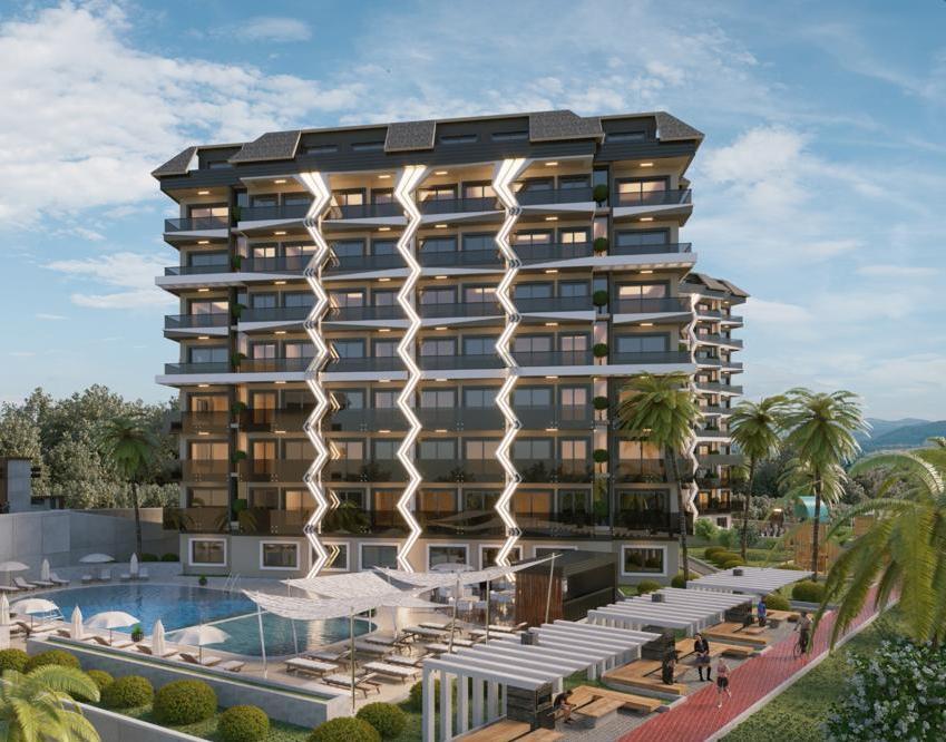 Новый жилой комплекс — Аланья, Турция