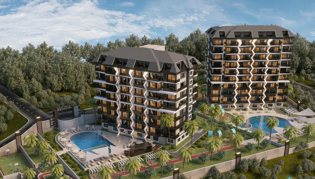 Новый проект в Авсалларе — Аланья, Турция