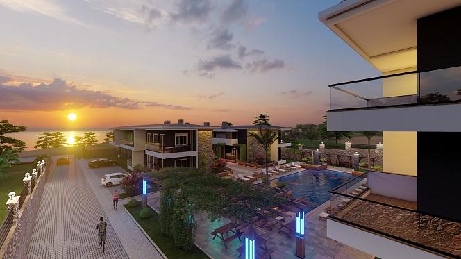 «NIRVANA VILLAGE residence» Авсаллар, Алания, Турция