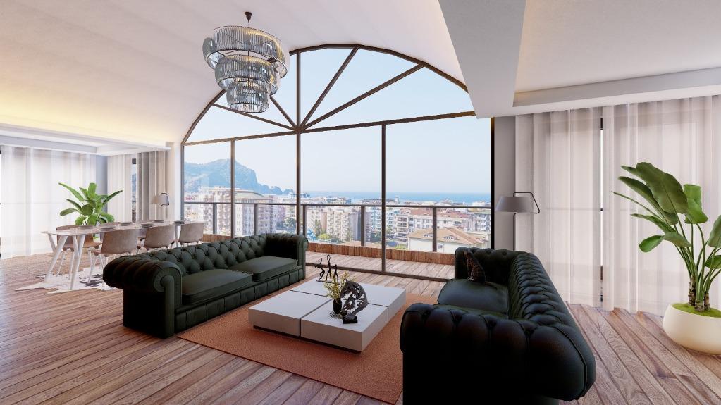 Новый жилой комплекс — Алания, центр, недвижимость в Турции
