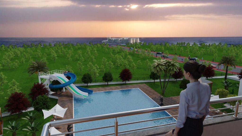 Готовый к проживанию жилой комплекс — Кызкалеси, Мерсин, недвижимость к Турции