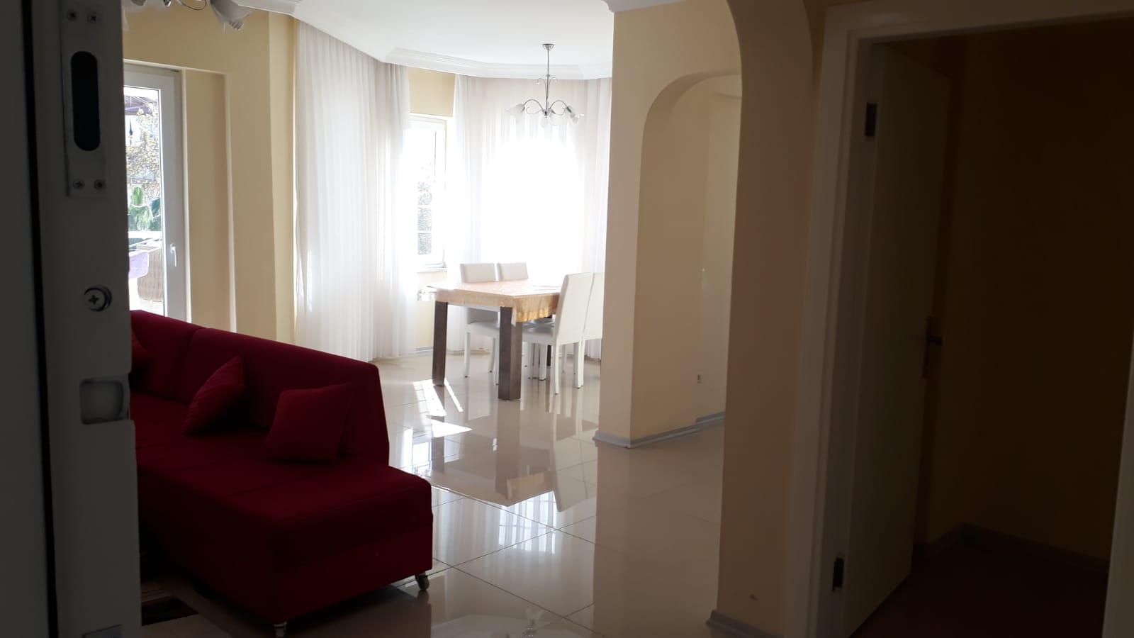 Меблированная квартира 2+1 недалеко от моря